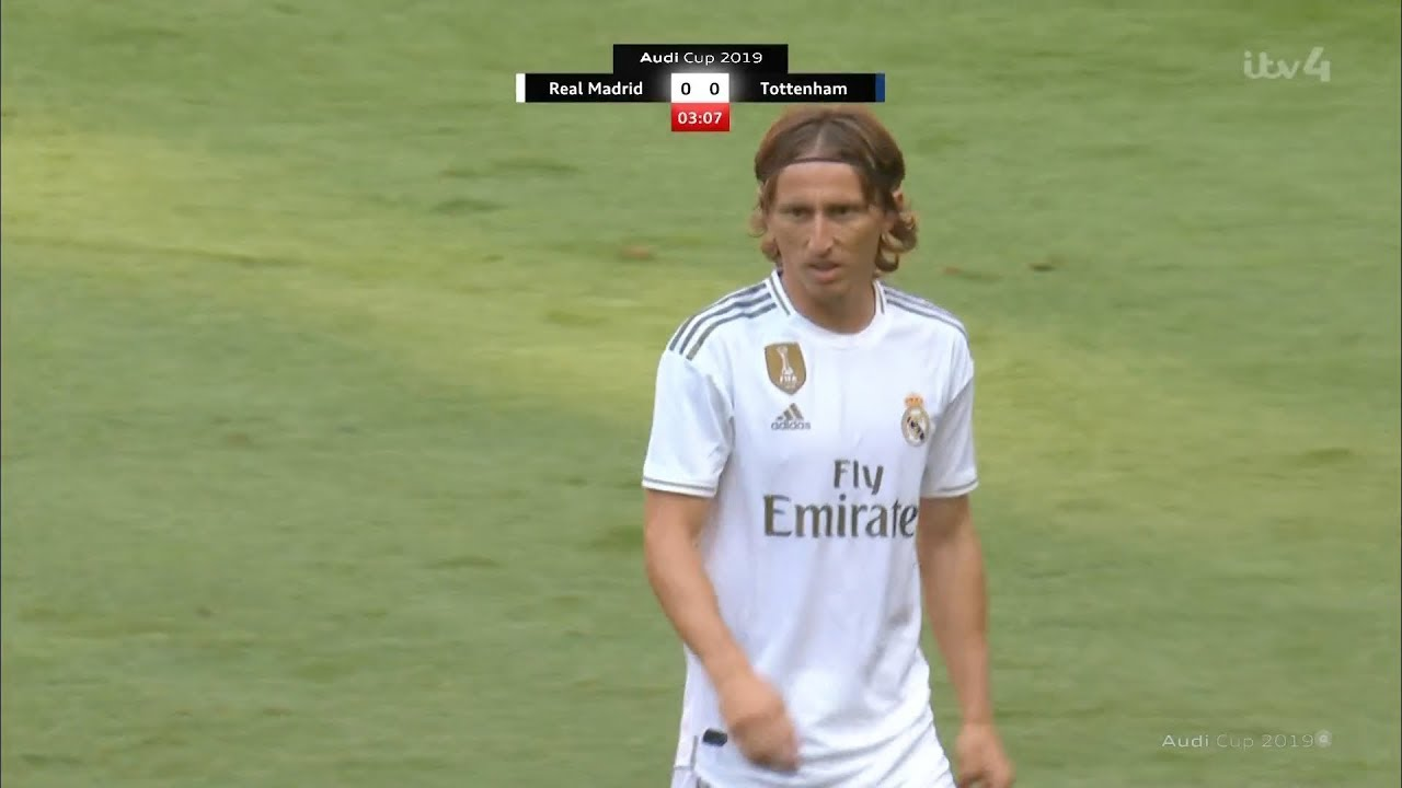 info for ba135 e3ea9 Luka Modric vs Tottenham (30/07/2019) HD 1080i
