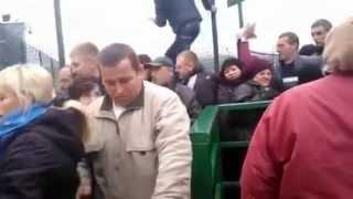Давка на КПП переходе Шегини 24 ноября(, 2014-11-26T14:20:54.000Z)