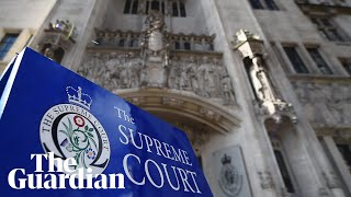 UK supreme court hears challenge on parliament's suspension - watch live