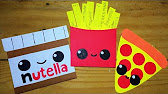 Tarjetas De Comidita Kawaii Youtube