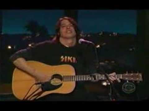 Foo Fighters Tiny Dancer Acoustic On Kilborn Youtube