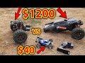$40 RC Car VS $1200 RC Car - Destroyed!!!