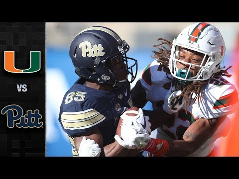 Miami vs. Pittsburgh Football  miami hurricanes