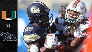 Miami vs. Pittsburgh Football Highlights (2017)