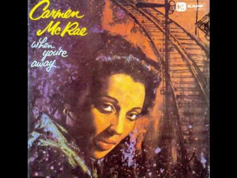 Carmen Mcrae &  George Shearing - I don´t stand a ghost of a chance with you