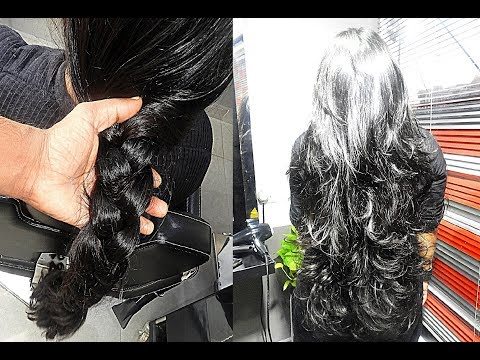 Makeover - Long Layered Cut without Losing Length and Thickness
