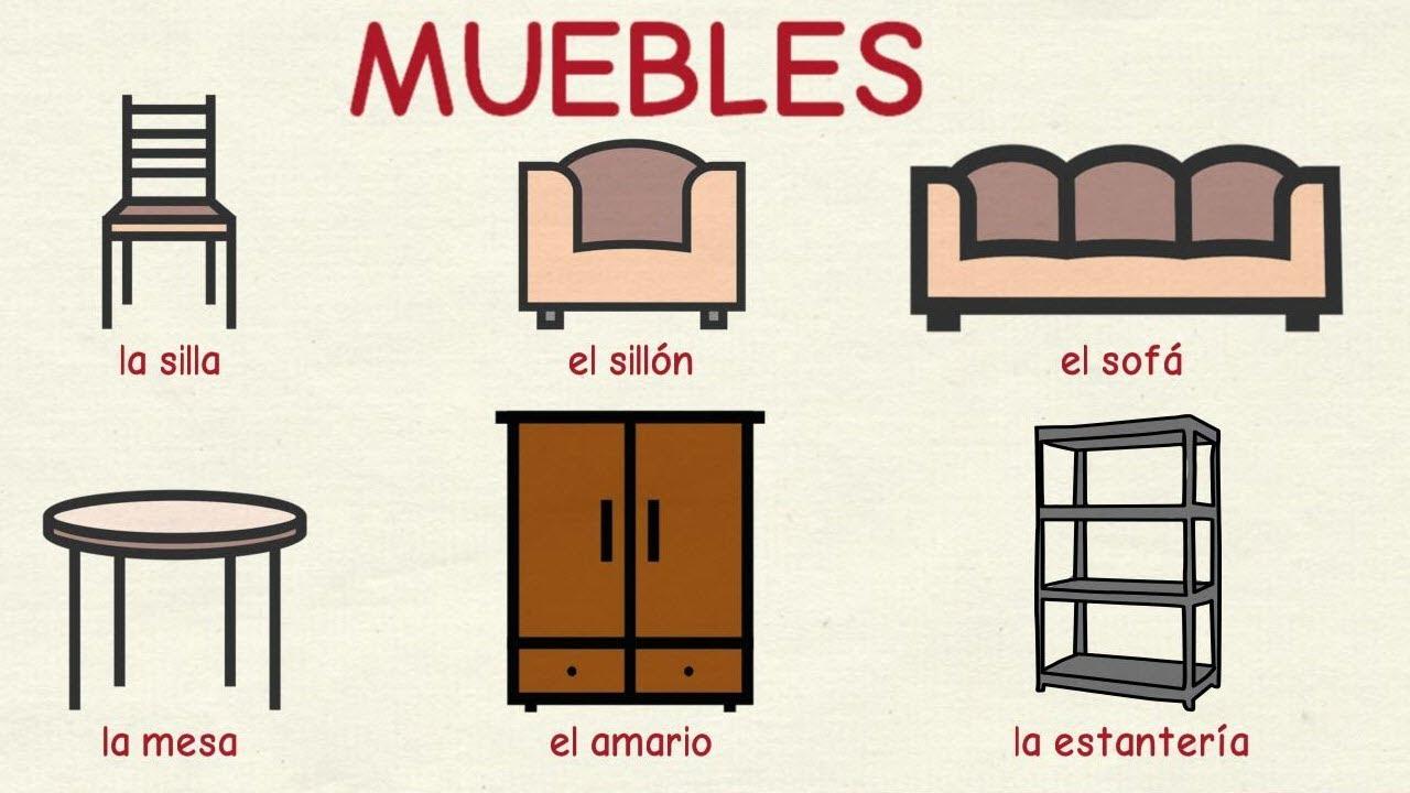 Aprender Español Muebles Y Otros Objetos De La Casa Nivel Básico Youtube