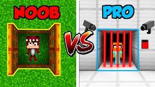 Minecraft NOOB vs PRO: ESCAPA DE LA PRISIÓN ANTES DEL FIN DE AÑO  | 🔴 DIRECTO MIKECRACK