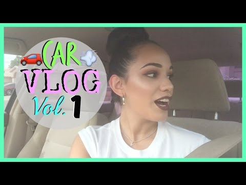 Car Vlog 2016| Going through Depression + Quitting Coffee | What to Drink at Starbucks