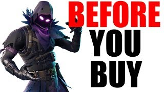 RAVEN - Before You Buy/Review/Showcase (Updated) - Fortnite Skins