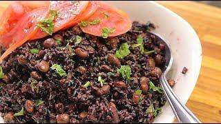Black Rice Recipe  - Healthy Recipe Channel