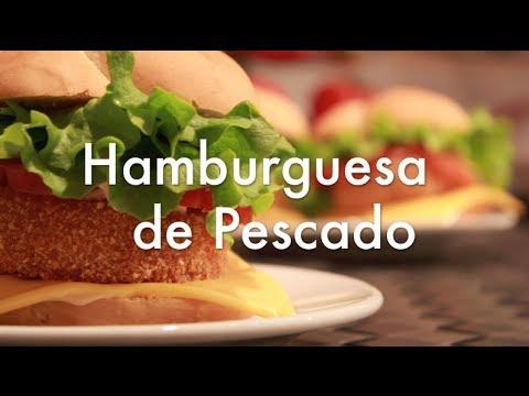 Hamburguesas caseras de pescado recetas de cocina youtube - Hamburguesas de pescado para ninos ...