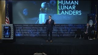 NASA Administrator Hosts Industry Forum on Lunar Exploration Plans
