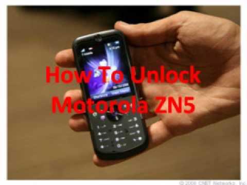 Motorola ZN5