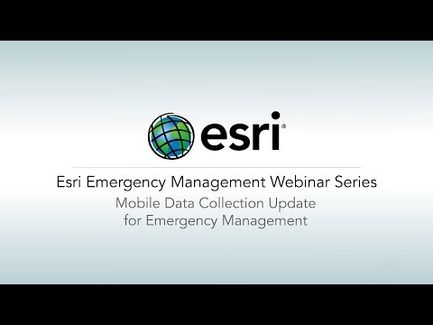 Mobile Data Collection Update for Emergency Management