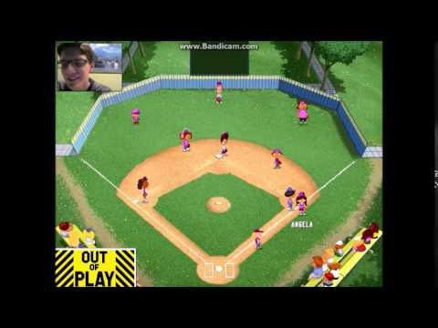 let 39 s play backyard baseball part 2 the first game youtube