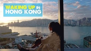 HONG KONG DAY 1: Luxury Hotel with Best View | Honeymoon Vlog 04