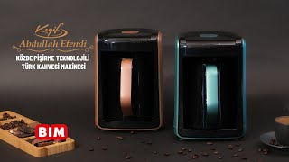 BİM - Keyif Abdullah Efendi Közde Pişirme Teknolojili Türk Kahvesi Makinesi