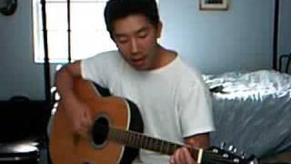 Ngai da giang sinh (My Memory) on Guitar