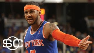 Carmelo Anthony And Houston Deal Held Up By Ryan Anderson | SportsCenter | ESPN