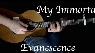 Kelly Valleau - My Immortal (Evanescence) - Fingerstyle Guitar