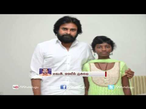 Sreeja Family Meets Pawan Kalyan After Recovery | 99tv