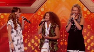 The X Factor UK 2015 S12E11 6 Chair Challenge - Groups - Rumour Has It Full Clip