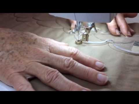Domestic machine Quilting with rulers - YouTube : domestic machine quilting - Adamdwight.com