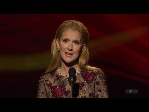 Céline Dion Avec Le Temps Live à Hommage à René Angélil Gala ADISQ 2016/10/30