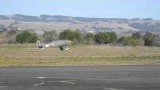 warbirds take off from Petaluma