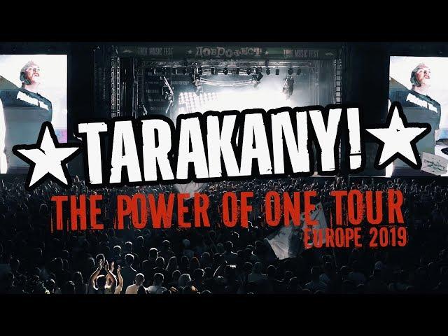 Tarakany! — The Power of One Tour: Europe 2019