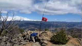 SOTA Activation: W0/FR-150 (Thunder Peak) N Colorado (Summits on the Air)