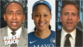First Take discusses the significance of Maya Moore's fight for social justice