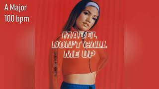 Mabel Don T Call Me Up FULL HQ ACAPELLA