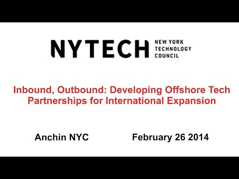 Inbound, Outbound: Developing Offshore Tech Partnerships for
