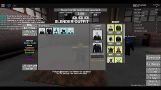 All the codes in roblox stop it slender