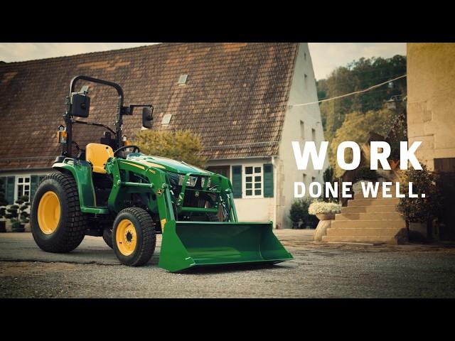 John Deere | Kompakttraktor 3038E WORK DONE WELL
