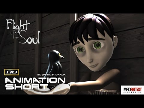 "CGI 3D Animated Short Film ""FLIGHT OF THE SOUL"" Emotional Animation by Caitlin Inzinna"