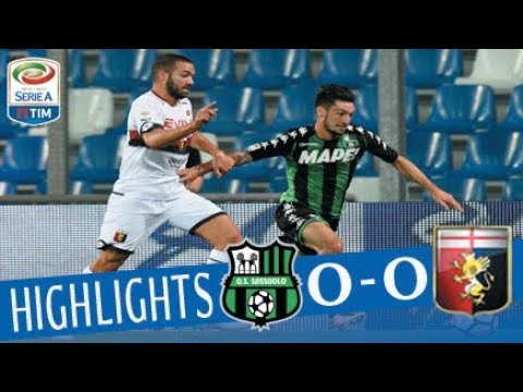 Sassuolo - Genoa - 0-0 - Highlights - Giornata 1 - Serie A TIM 2017/18