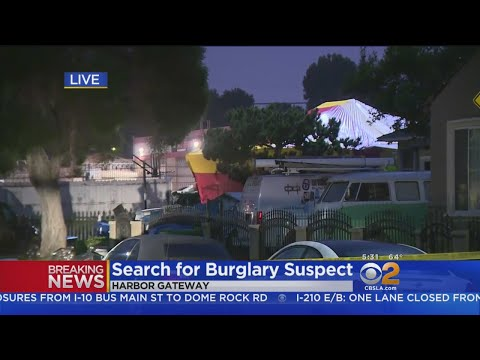 Police Search For Burglary Suspect In Harbor Gateway Area