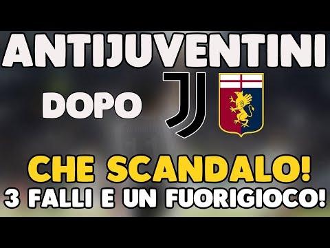 CHE SCANDALO: 3 FALLI E UN FUORIGIOCO!! | ANTIJUVENTINI dopo JUVENTUS - Genoa 1-0