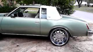 78 buick regal on 24s by james wilcox 78 buick regal on 24s by james wilcox
