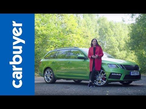 2018 Skoda Octavia vRS Estate review – Green, mean machine – Ginny Buckley – Carbuyer