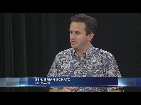 Sen. Brian Schatz on Wake Up 2Day (Part 1)