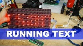 Merakit LED Matrix / Running Text Sederhana