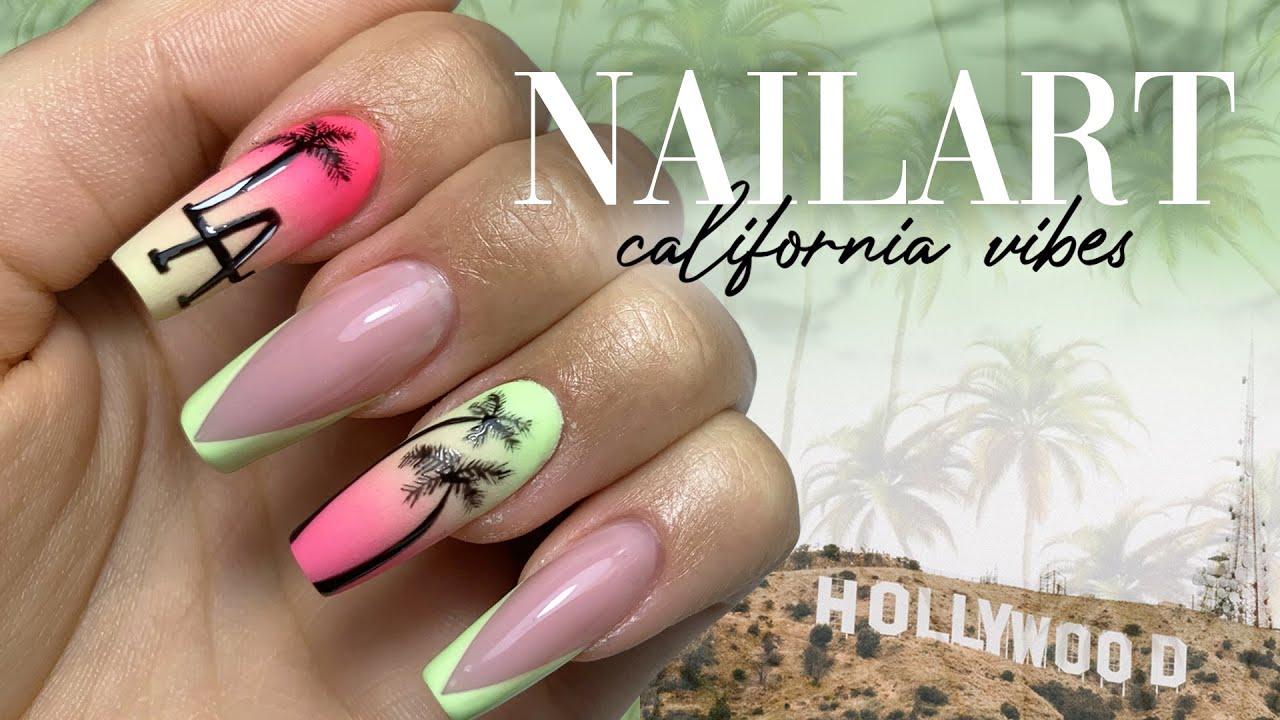 NAILART CALIFORNIA VIBES 🌴