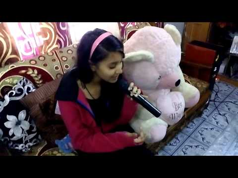 MUAKURANE KI WAJAH TUM HO SONG SING BY NANDNI  WITH GUITAR