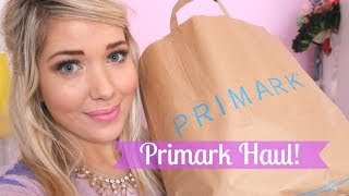Primark Haul February 2014 | Away with the Fairies Thumbnail