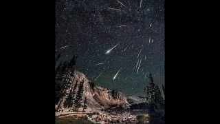 Perseid Meteor Shower - 2018  mid - August peak