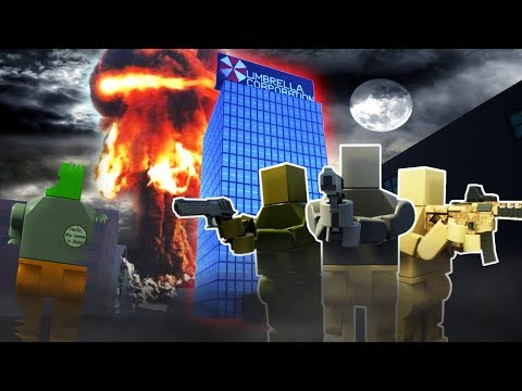 Brick Rigs - LEGO ZOMBIE AND NUCLEAR BLAST SURVIVAL! - Brick Rigs Gameplay